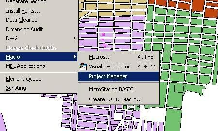 visual basic microstation