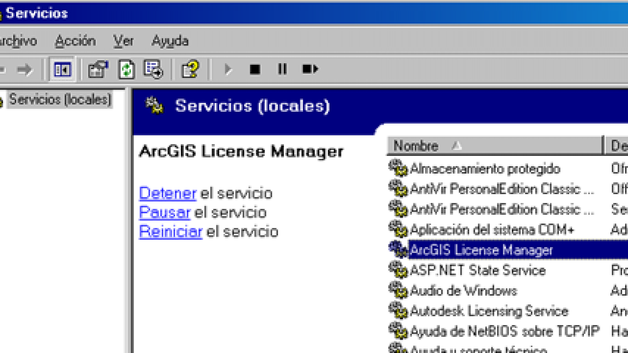 Problems with ArcGIS license - Geofumed