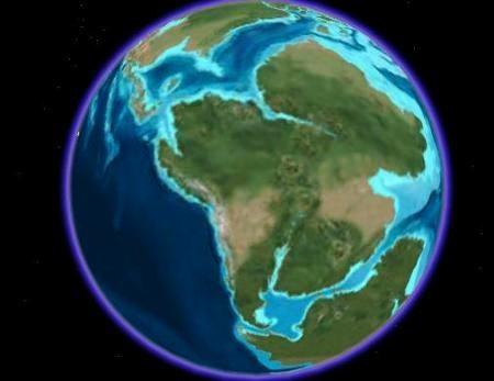 animazione google earth