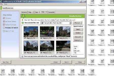 Foto's herstellen van beschadigde kaart xd