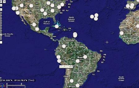 गूगल के नक्शे डेविड रैमसे