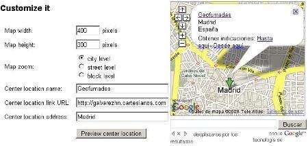 वेब पर Google मानचित्र