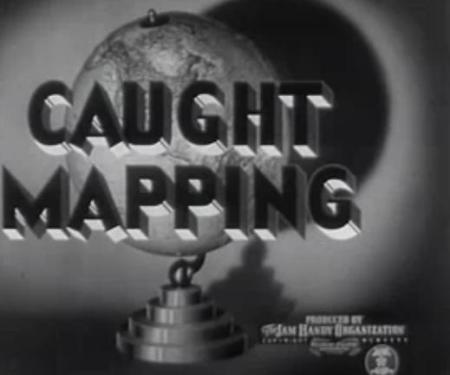 Cartograffeg blynyddoedd 40