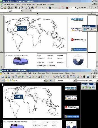 Excel ავტოკადი