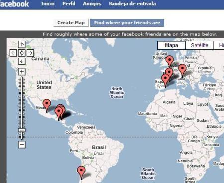 facebook google earth