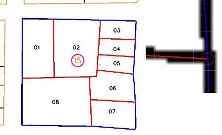 na-scan ang mapa sa vector