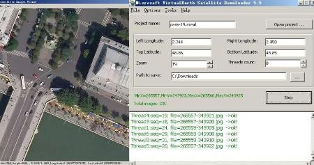 Allallsoft, download maps from Google, Yahoo, Bing and OSM - Geofumadas
