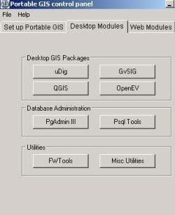 Portable GIS, everything from a USB - Geofumadas