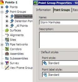 AutoCAD Civil 3D, import points from an external database