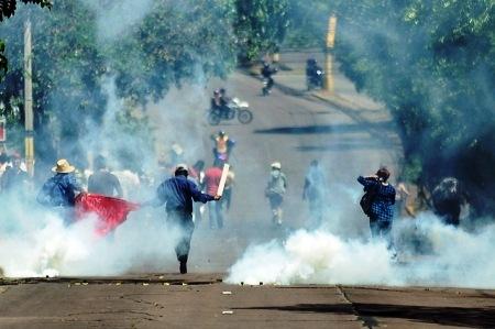 HONDURAS-PROTESTI