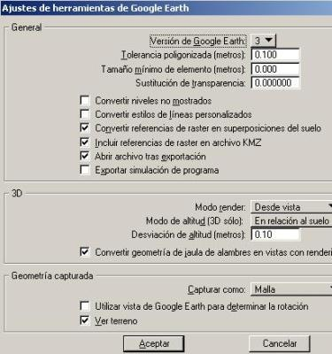 conectar google earth con microstation autocad