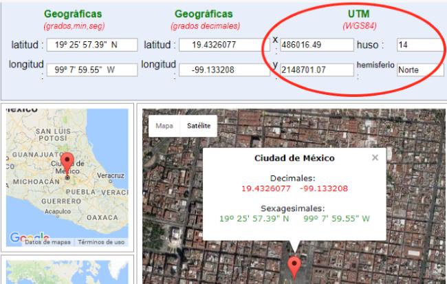Koordinaten Karte.Utm Koordinaten In Google Maps Egeomates