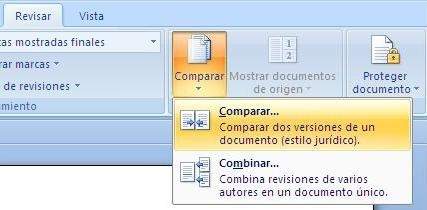 comparar documentos no Word