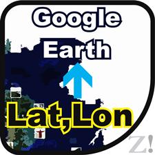 latlon to google earht