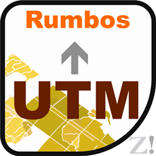 cydlynu utm a rumbos