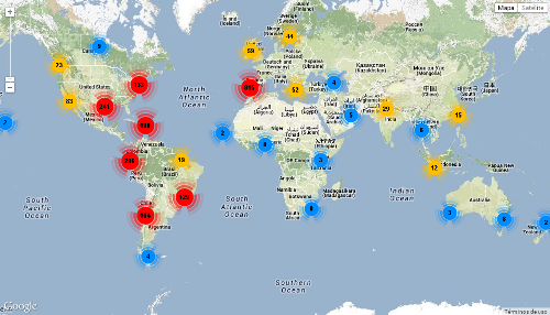 Twitter geofumadas The Top 40 Geospatial of Twitter