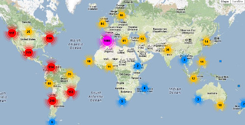 geofumadas follwerwonk1 The Top 40 Geospatial of Twitter