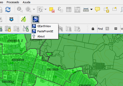 qgis google earth