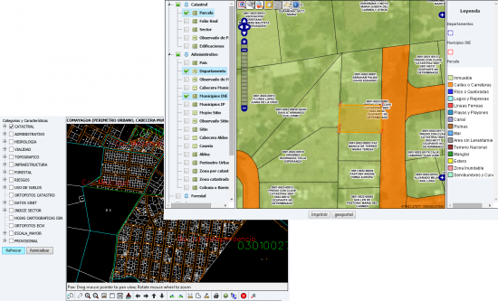 cadastral viewer openlayers