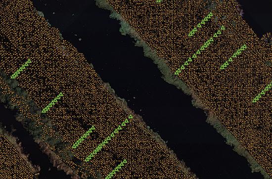 topografia aurrezteko