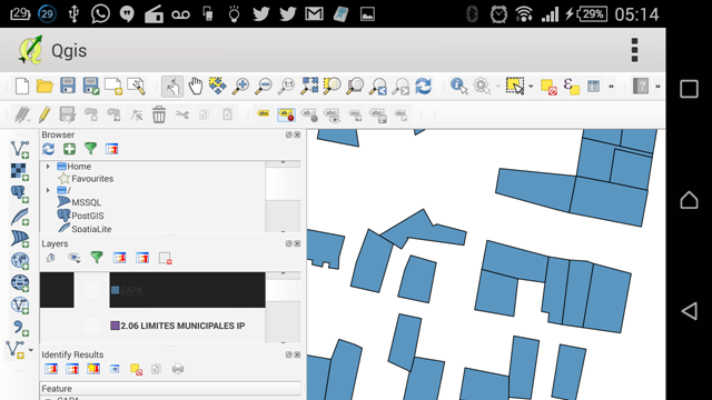 Qgis for android