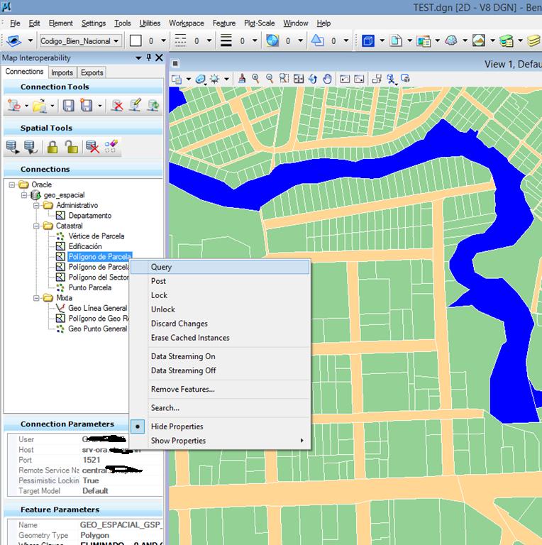 map bentley spatial2