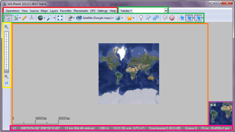 How to download images from Google Earth - Google Maps - Bing