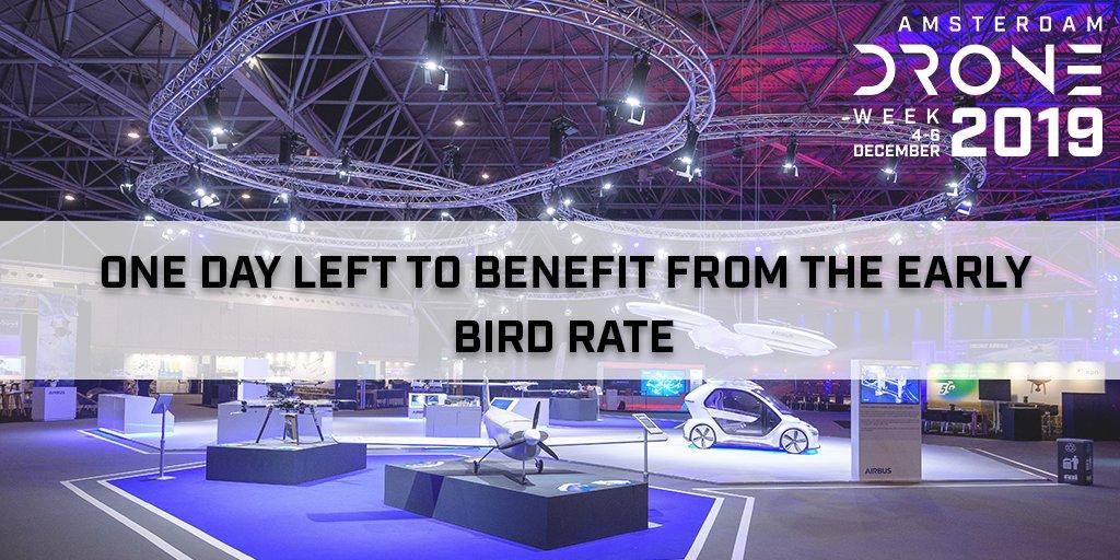 សប្តាហ៍ Drone នៅទីក្រុង Amsterdam និង UAM Summit 2019